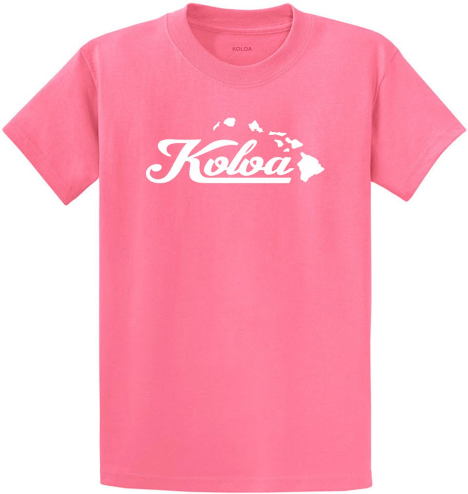 Joe's USA SHIRT メンズ B073YJ9L28 3L Candy Pink White Logo (Heavyweight 100% Cotton) Candy Pink White Logo (Heavyweight 100% Cotton) 3L