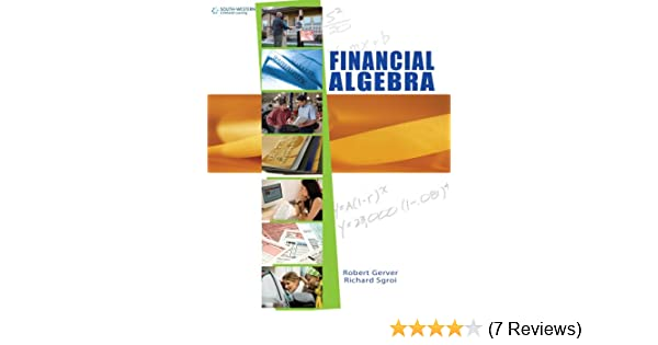 Financial algebra student edition 001 robert k gerver richard j financial algebra student edition 001 robert k gerver richard j sgroi amazon fandeluxe Choice Image
