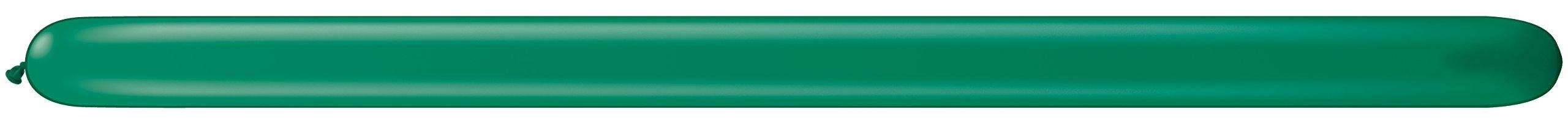 Qualatex 260 Q Balloons Emerald Green 100 Per Bag