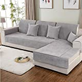 L&ZR Waterproof Urine Sofa Cushion Couch Cover, For Pets Cat Scratching Protector Sofa Sets,Thick Sofa Slipover,For Moving And Long Term Storage,110210Cm