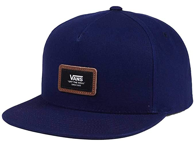 784bbfc0ae1 Vans Men s Fiske Snapback Hat Navy One-Size VN0A36IALKZ at Amazon ...