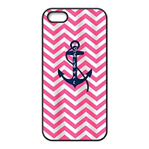 iPhone 4 4s Cell Phone Case Black Anchor Pattern Nwfz