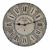 ZMLW 14-Inch Silent Non-Ticking Colorful Children's Wall Clock Battery Operated for Kids Room Classroom Nursery Learning Roman Numerals Read Time