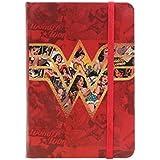 Caderneta de Anotação, Urban, Mulher Maravilha Movie, Logo With Comics, Vermelho