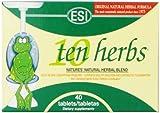 ESI Ten Herbs, Original Formula, 40 Tablets
