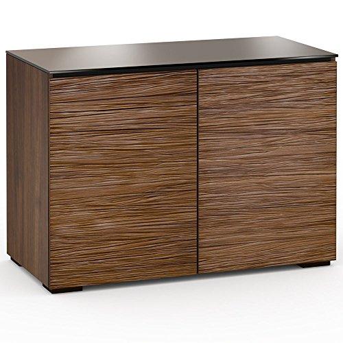 Salamander Design Denver 323 Twin Width AV Cabinet (Medium Walnut,Texture) by Salamander Designs