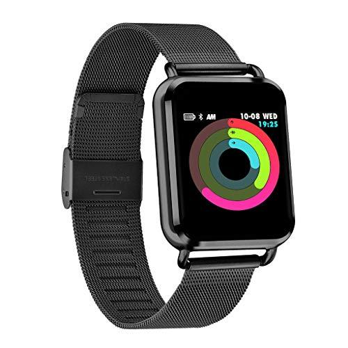 Amazon.com: Miuye yuren-Electronic Fitness Tracker HR Smart ...