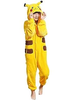 Amazon.com: Pokemon Pikachu Boys Unión Suit pijamas 4 – 16 ...