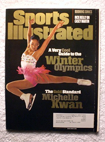 Michelle Kwan - Figure Skating - Guide to the XVIII Winter Olympics - Sports Illustrated - February 9, 1998 - Nagano Japan - SI