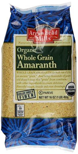 Arrowhead Mills Organic Whole Grain Amaranth, 16 Ounce