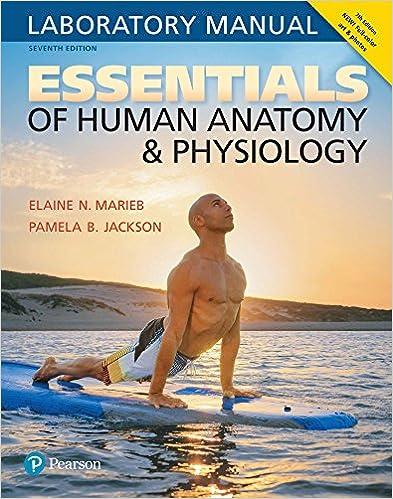 Essentials of Human Anatomy & Physiology Laboratory Manual 7, Elaine ...
