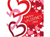 Happy Valentine's Day Lunch Napkins Set-Package Quantity,144