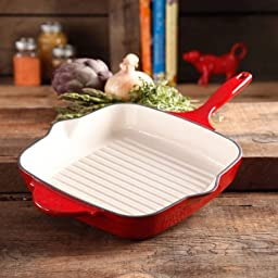 The Pioneer Woman Timeless Square Cast Iron 10.25\