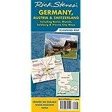 Rick Steves' Germany, Austria, and Switzerland Map: Including Berlin, Munich, Salzburg and Vienna City
