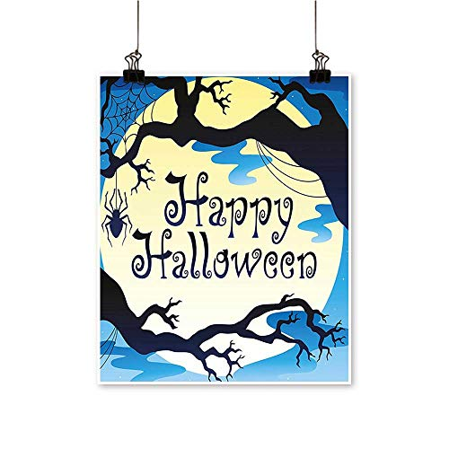 Artwork for Home Decorations Happy Halloween Quote Spooky
