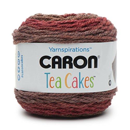Caron Tea Cakes Acrylic-Wool Blend Yarn ~ 8.5 oz. Each (Pumpkin (Yarn Tea)