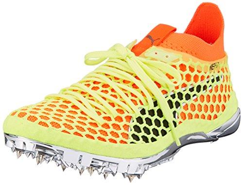 Puma Evospeed Netfit Sprint Running Spikes - Yellow-9.5