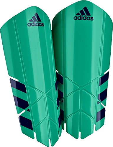 adidas Ghost Lesto Shin Guard, Light Green, Small (In Slip Guards Shin Soccer)