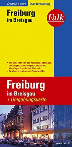 Falk Stadtplan Extra Standardfaltung Freiburg im Breisgau Landkarte – 30. August 2018 OSTFILDERN 3827923123 Karten Baden-Württemberg