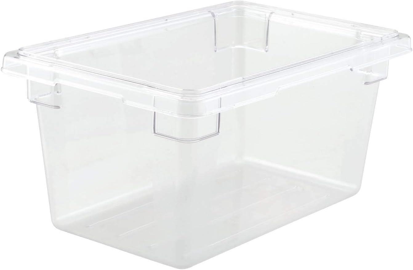 Winco Polycarbonate Food Storage Box, 12 by 18 by 9-Inch