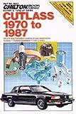 CH6933 Chilton Oldsmobile Cutlass 1970-1987 Automobile Repair Manual