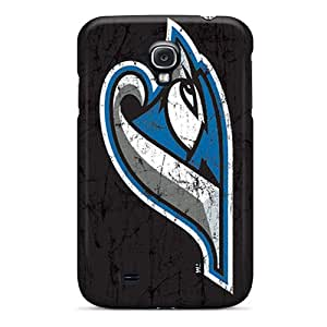 Samsung Galaxy S4 Rln19039NJpC Allow Personal Design Trendy Toronto Blue Jays Pattern Best Cell-phone Hard Cover -RudyPugh