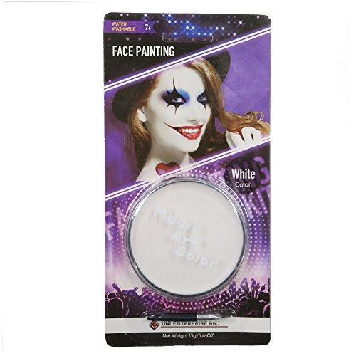Magic Art Color -- Magic Art Color Makeup (White) (Halloween Jester Face Paint)