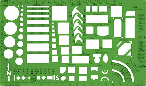 Westcott Technical Drawing Template (T-806)