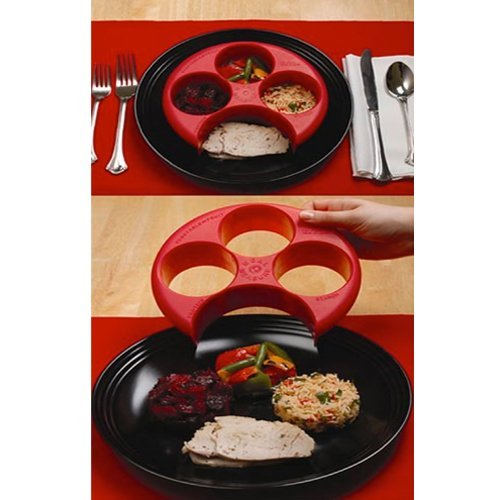 Meal Measure 1 Portion Control Tool 1 Case -24 Units by Meal Measure