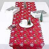 Woooow Christmas Snowflake Table Runner-Snowflake