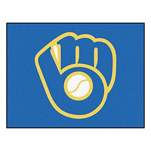 Milwaukee Brewers Rug - MLB Milwaukee Brewers