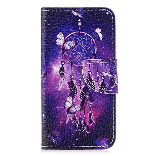 Ecoway Serie pintada Caja del teléfono de moda para Samsung Galaxy J3 2017/J330 (Euro edition) - Tower Campanula