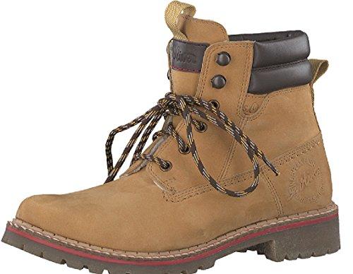 braun Combat Damen Boots s Oliver 25204 01q8HH4