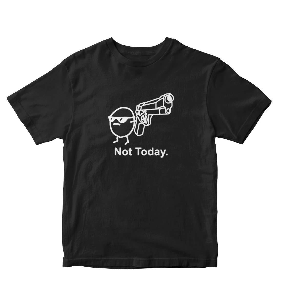 Not Today Potato Asdfmovie Black Shirt S M117