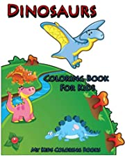 Coloring Book For Kids : Dinosaurs Coloring Book for Kids: Creative Haven Coloring Books : coloring book for kindergarten and kids