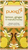 Pukka Organic Tea, Lemon, ginger and Manuka Honey, 20 Count (Pack of 6) For Sale
