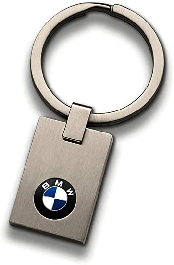 BMW Genuine Main Collection Stainless Steel Keyring Logo Small 80272454772