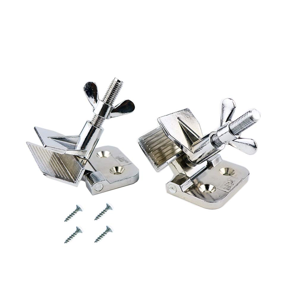 2 pc of Screen Frame Butterfly Hinge Clamp for Silk Screen Printing Sturdy Quality, 4 Screws Included. EQUTY BAYMERS