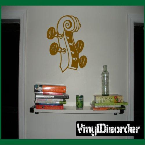 Vinyl Disorder musicalinstrumentsMC026 Violin Chello Scroll