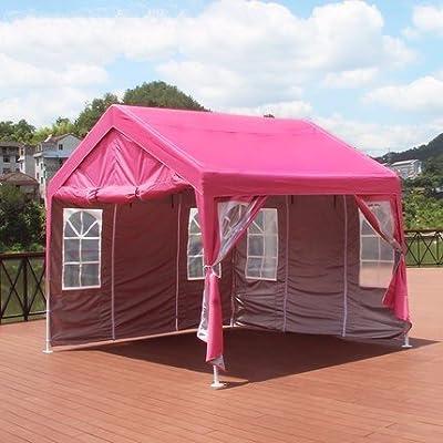 zhudj le Magasin recommandé, extérieur propriétaires de Marquise auvent de balcon Clapier Petite Maison de Tente Crème solaire commerciale Rose
