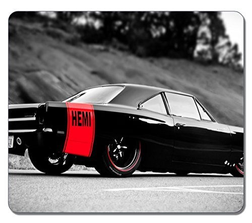 Price comparison product image Mouse Pads Art Customized 12798 Dodge Charger Hemi Car High Quality Eco Friendly Neoprene Rubber Mouse Pad Desktop Laptop Mousepads Comfortable Computer Cute Mouse Mat Gaming Mouse pad