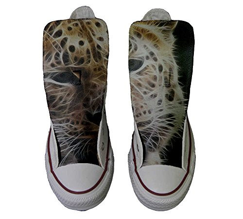 Converse All Star personalisierte Schuhe - HANDMADE SHOES - Tiger Style