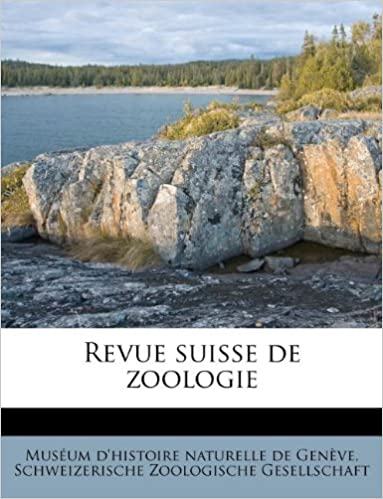 Téléchargement Revue Suisse de Zoologie pdf epub