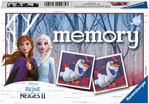 , Ravensburger- Memory La Reine des Neiges 2 Jeu Educatif, 4005556242757