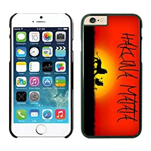 Iphone 6 Case 4.7 Inches, Hakuna Matata Hard Plastic Cute White Phone Protective Cover Case for Apple Iphone 6 Mobile Accessories