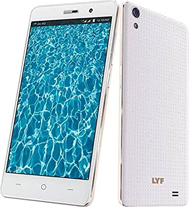 LYF Water 6 LTE VOLTE 4G SMART MOBILE PHONE Smartphones at amazon