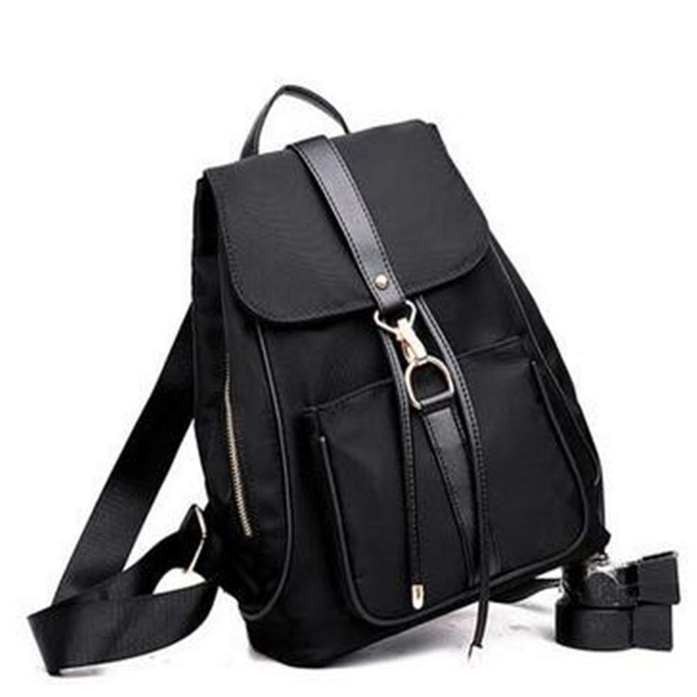 LIZHONG-SLT Traveling Bag, Bag, Nylon, Canvas Bag,Black,(Width 31cm Thickness 15cm high 34cm)