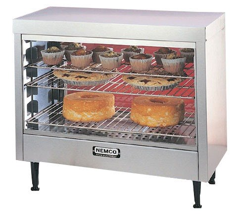 Nemco (6460) 28'' Deluxe Heated Display w/ Controlled Humidity by Nemco