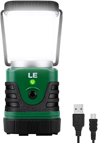 LE 1000 Lumen Rechargeable LED Camping Lantern