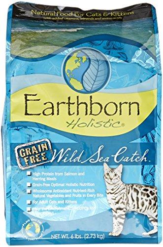Earthborn Holistic 5-Pack Wild Sea Catch Grain-Free Dry Cat